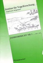 Title Jahresbericht 1